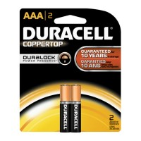 Duracell AAA 2 Pack