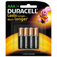 Duracell AAA 4 Pack