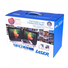Laser Portable DVD Player Dual Screen 7""