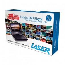 Laser Portable DVD Player 7""