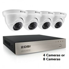 Zosi 8 Channel Security Camera Kit